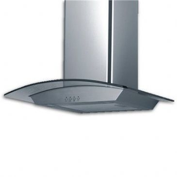 FOCAL POINT STAINLESS & GLASS 60CM COOKER HOOD